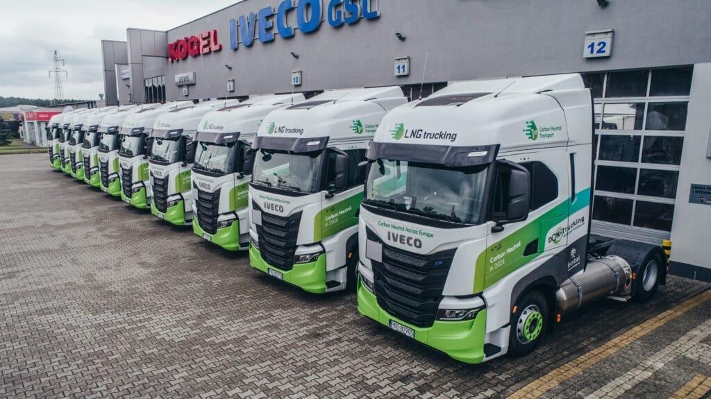 Poland's Don Trucking expands LNG-powered fleet