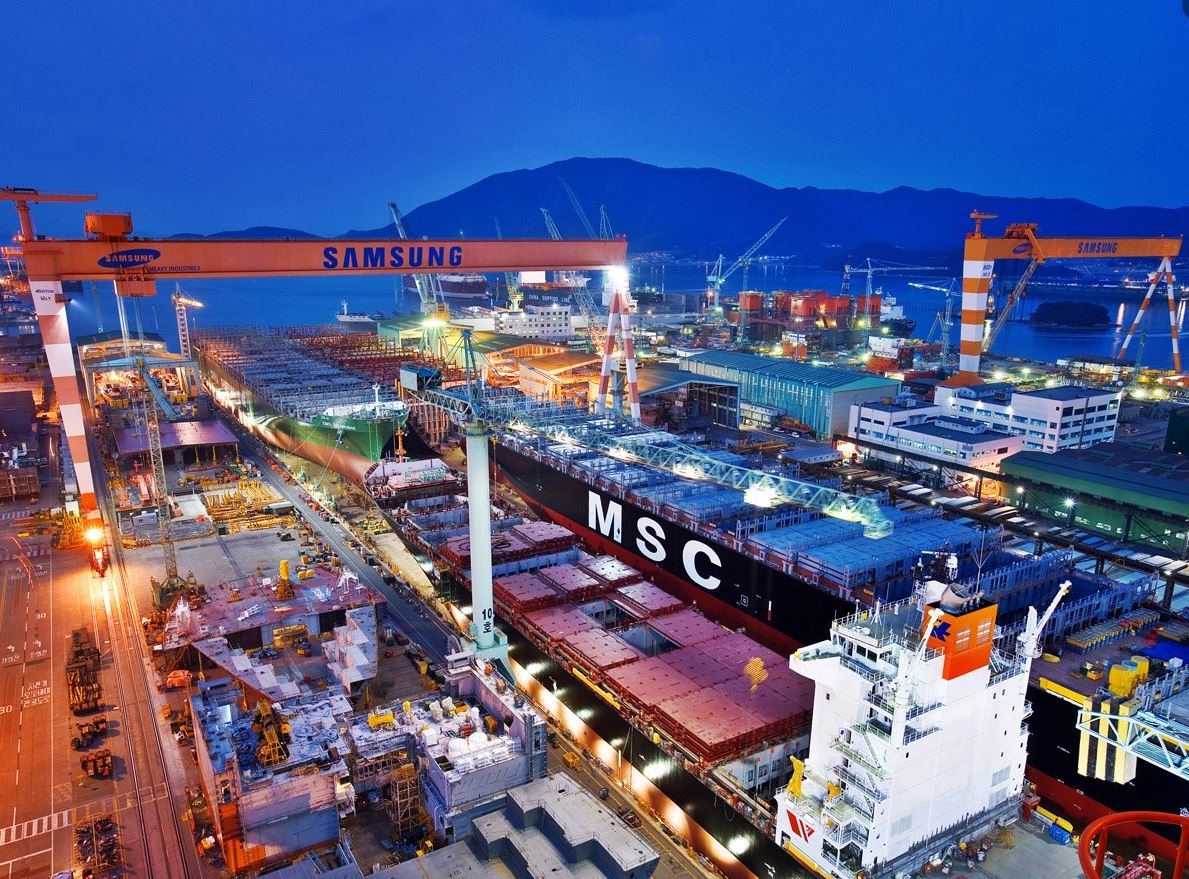 South Korea's Samsung Heavy nets contract for LNG carrier duo