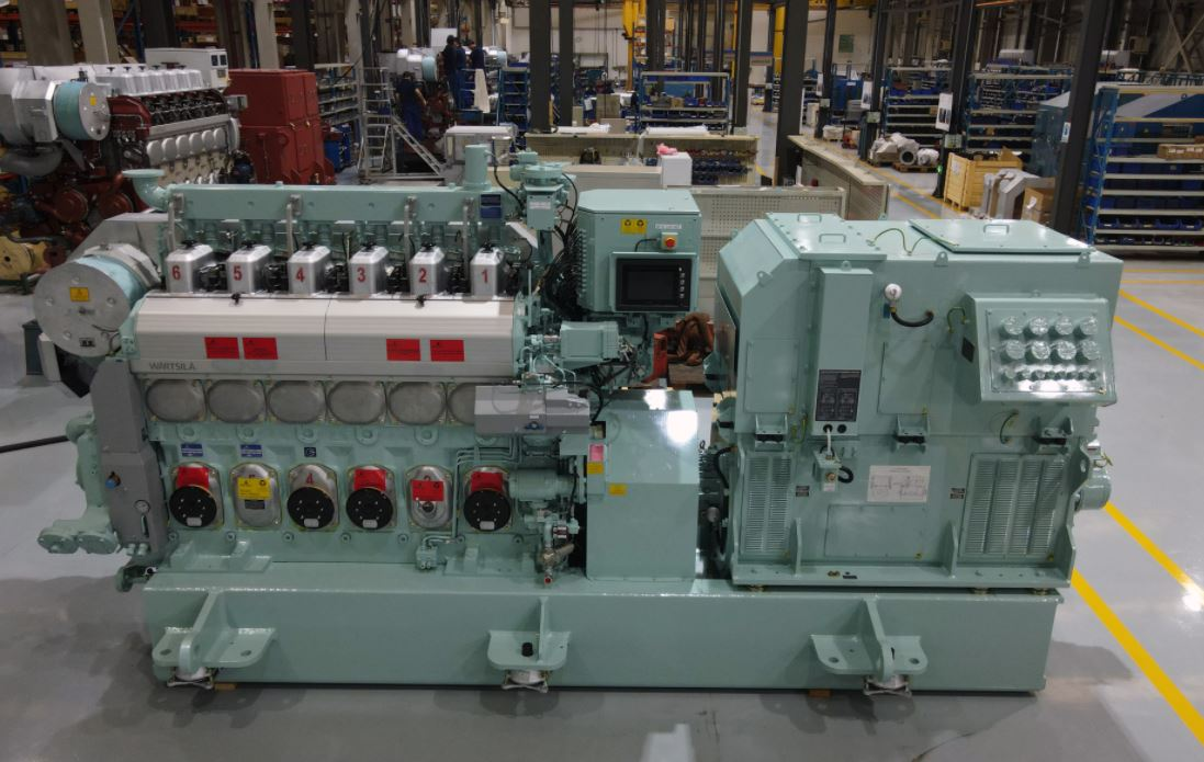 Wartsila's dual-fuel engine gets upgrade