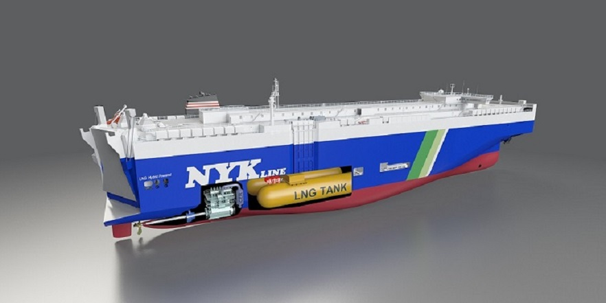 WinGD to supply hybrid energy systems for NYK's LNG car carriers
