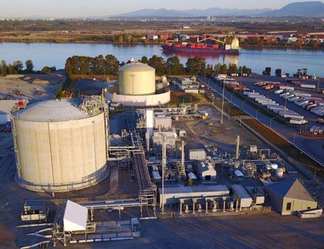 Canada's FortisBC shrinks expansion plans for Tilbury LNG