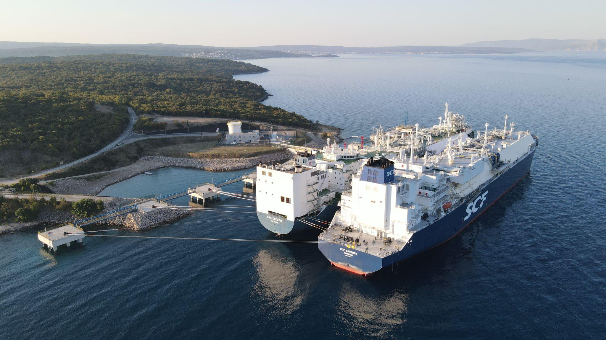 Croatian FSRU receives 13th LNG cargo