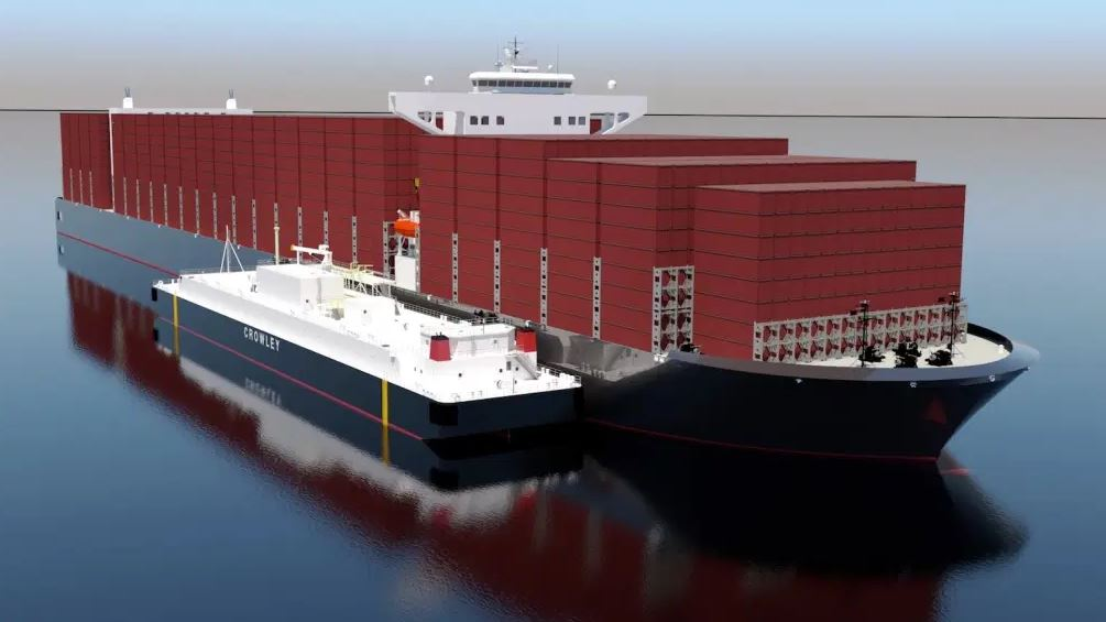 Crowley, Shell ink deal for new US LNG bunkering barge