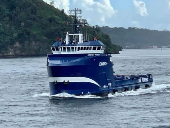 Harvey adds battery power to second LNG PSV