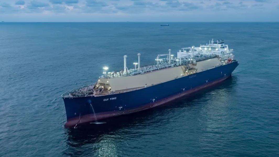 Hudong completes second LNG carrier for CSSC Shipping