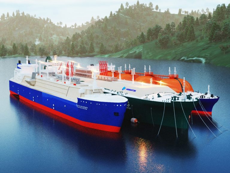 MOL to buy stake in Russian LNG FSUs