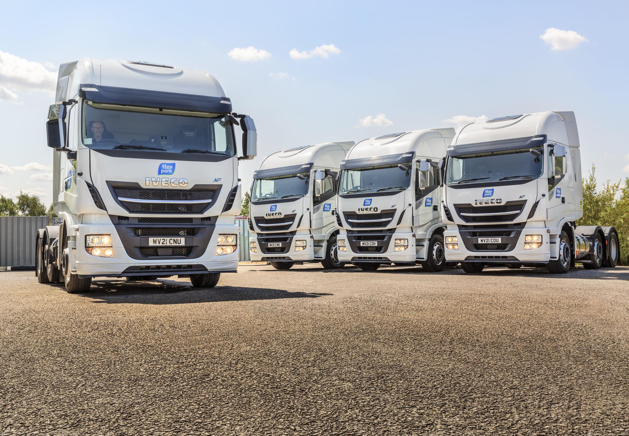 Moy Park launches fleet of LNG-powered trucks