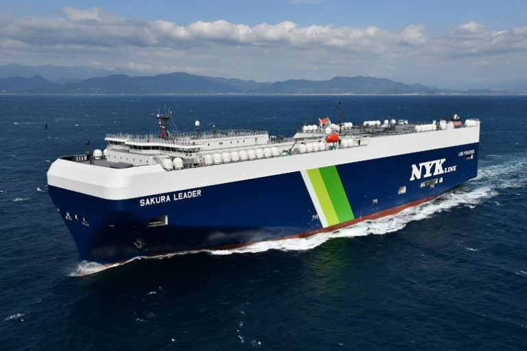NYK working on ammonia-ready LNG-powered vessel