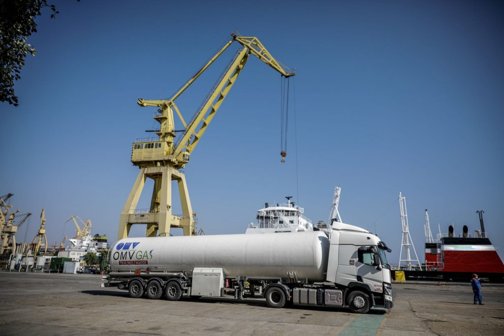 Romania's OMV Petrom wraps up first LNG bunkering op
