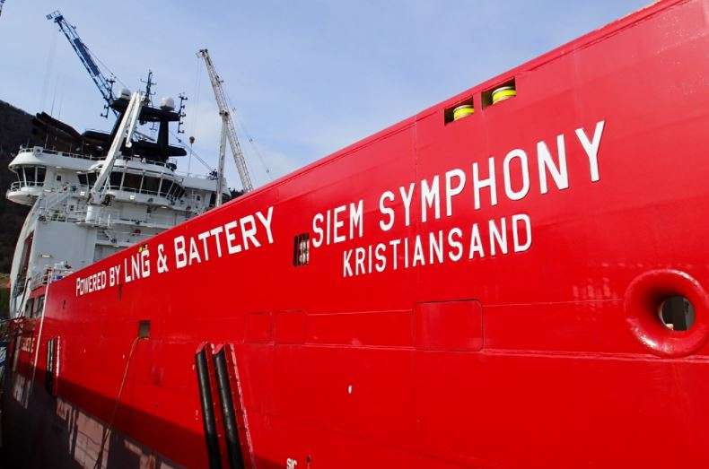 Siem Offshore adds battery power to LNG PSV