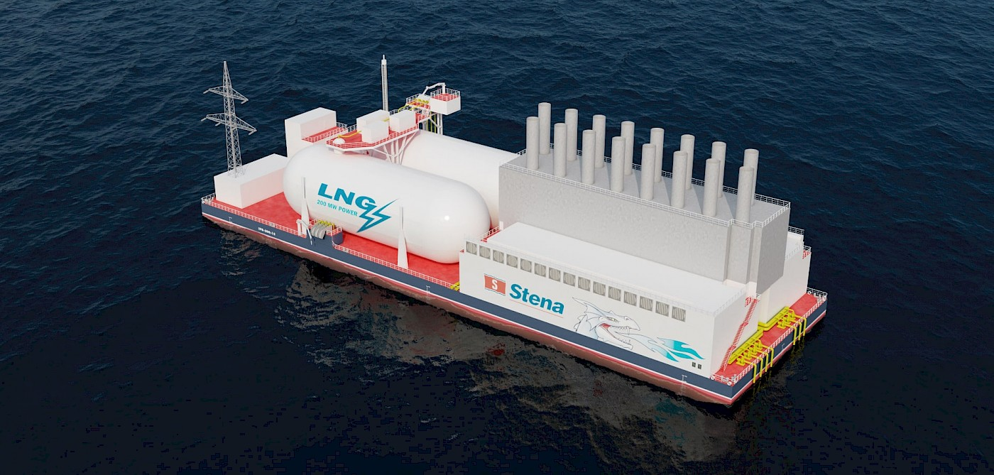 Stena adds integrated LNG power barge to its portfolio