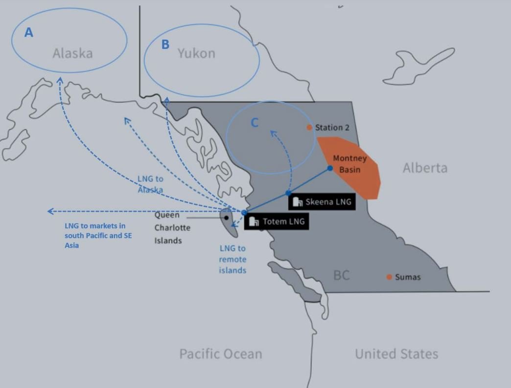 Top Speed puts Canadian small-scale LNG projects up for sale