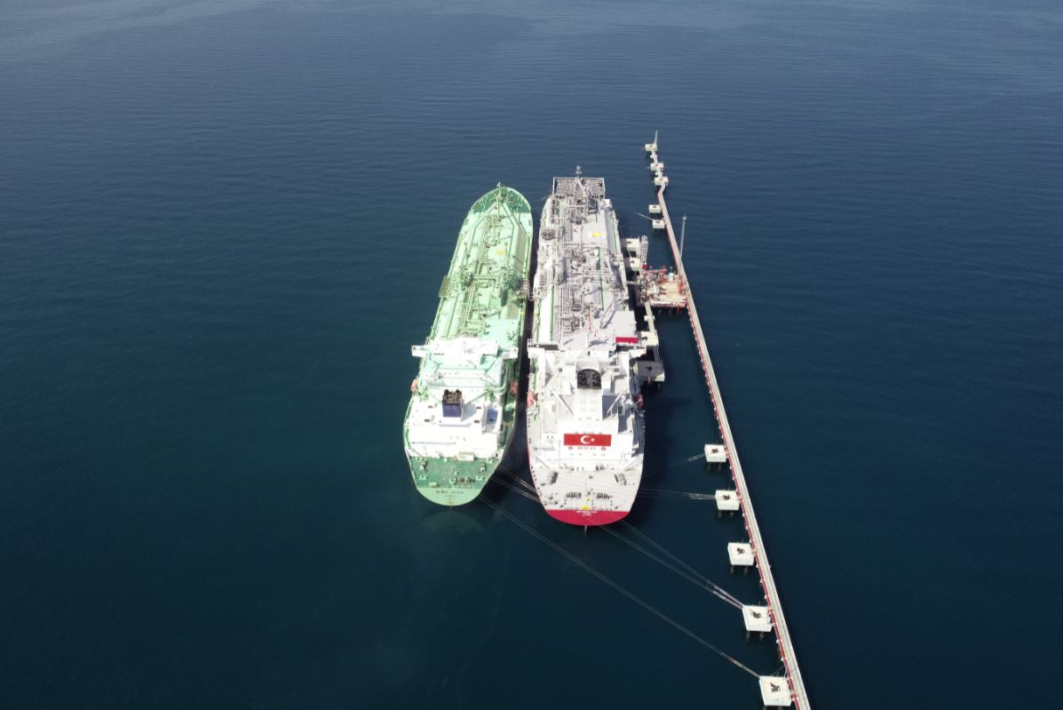 Turkey's Botas inks LNG bunkering pact with Sumitomo and Arkas