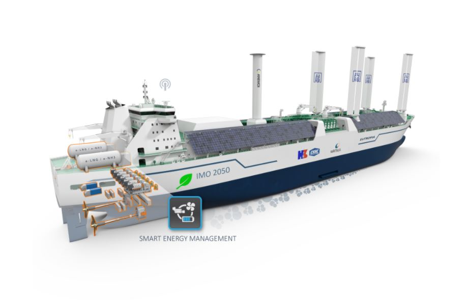 Warstila to work with Hudong and ABS on new LNG carrier concept