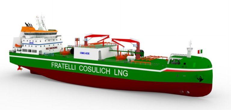 Wartsila scores contract for Italian LNG bunkering vessel