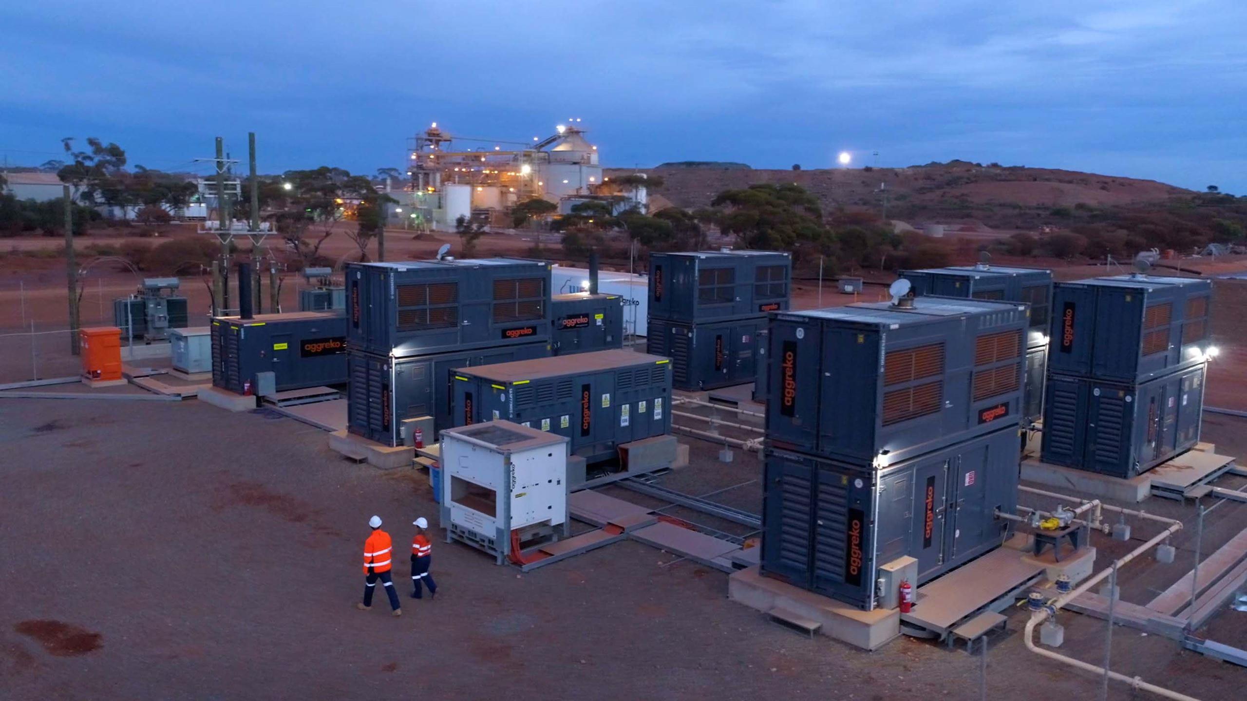 Western Australia gold mine gets Aggreko's LNG power plant