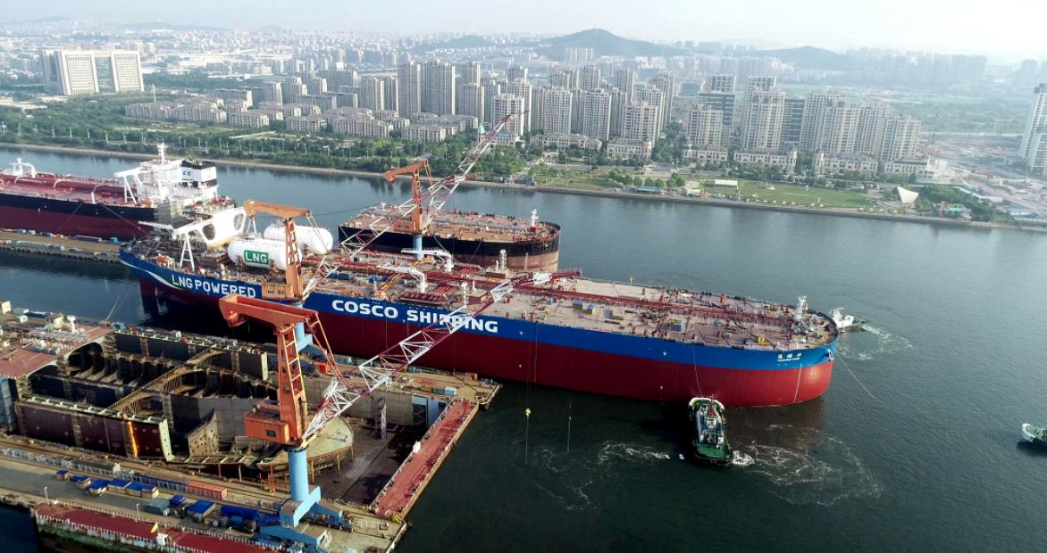 World's first LNG-powered VLCC completes sea trials