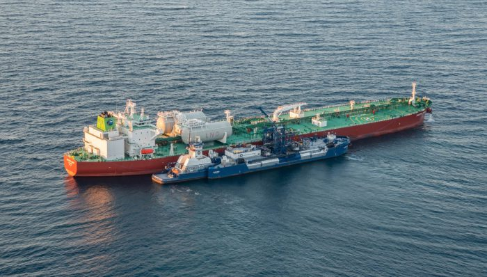 AET in first US LNG bunkering op
