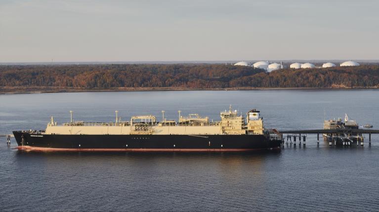 Cove Point LNG export plant back online after maintenance