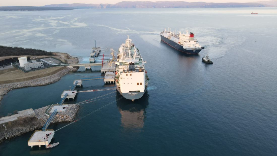 Croatian FSRU to get first Trinidad LNG cargo