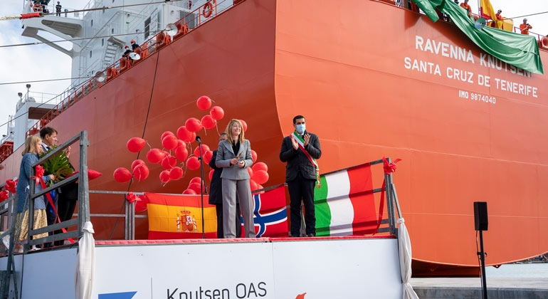 Edison, Knutsen name small-scale LNG carrier in Ravenna