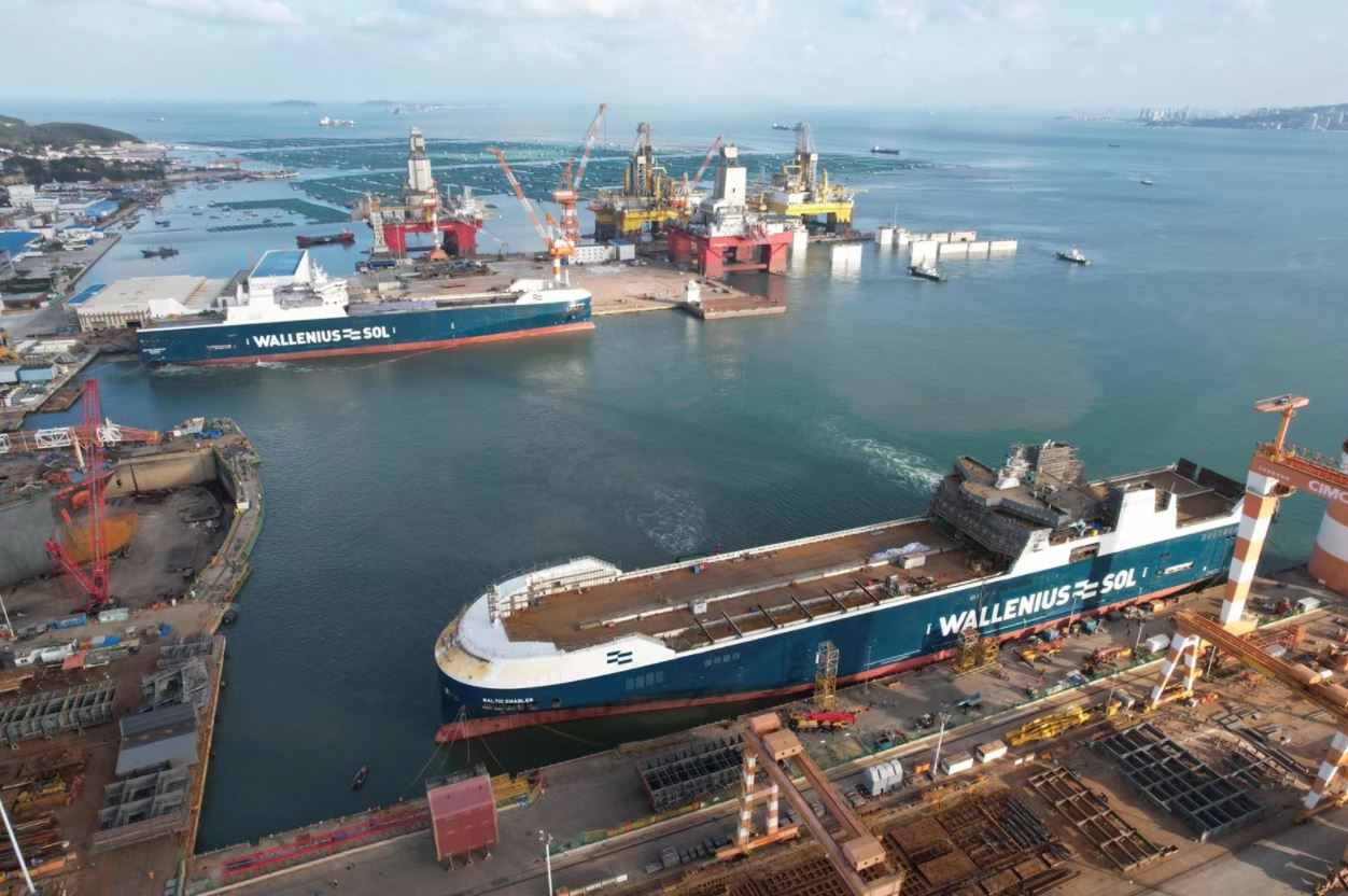 First LNG-powered ship to join Wallenius SOL's fleet in mid-December