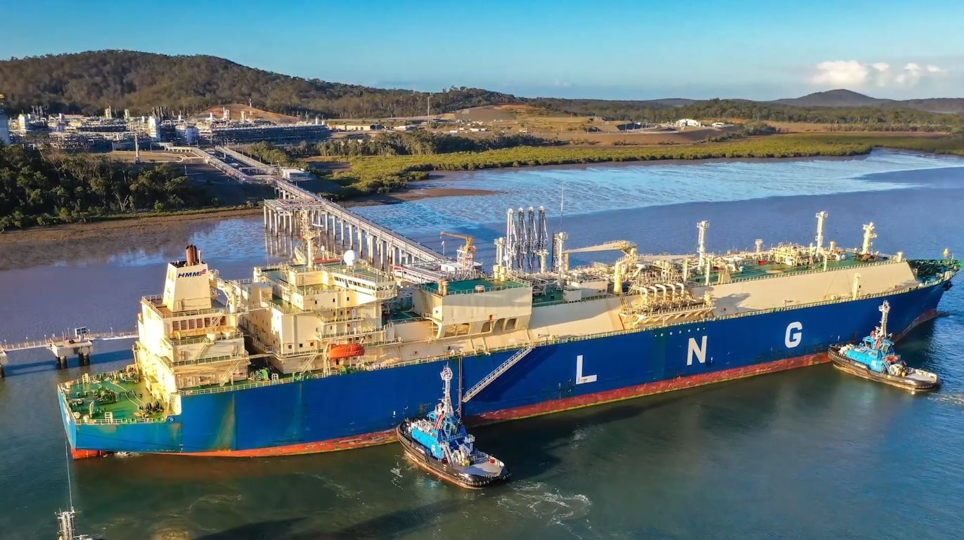 Gladstone LNG exports rise in September