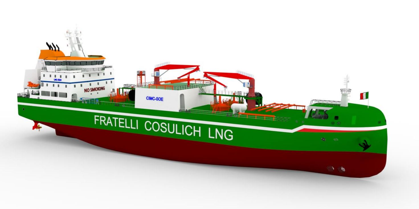 Italy's Fratelli Cosulich poised to order second LNG bunkering ship in China
