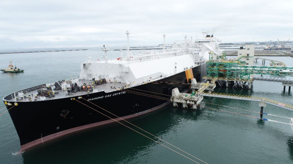 Japex gets carbon-neutral LNG cargo at Soma terminal