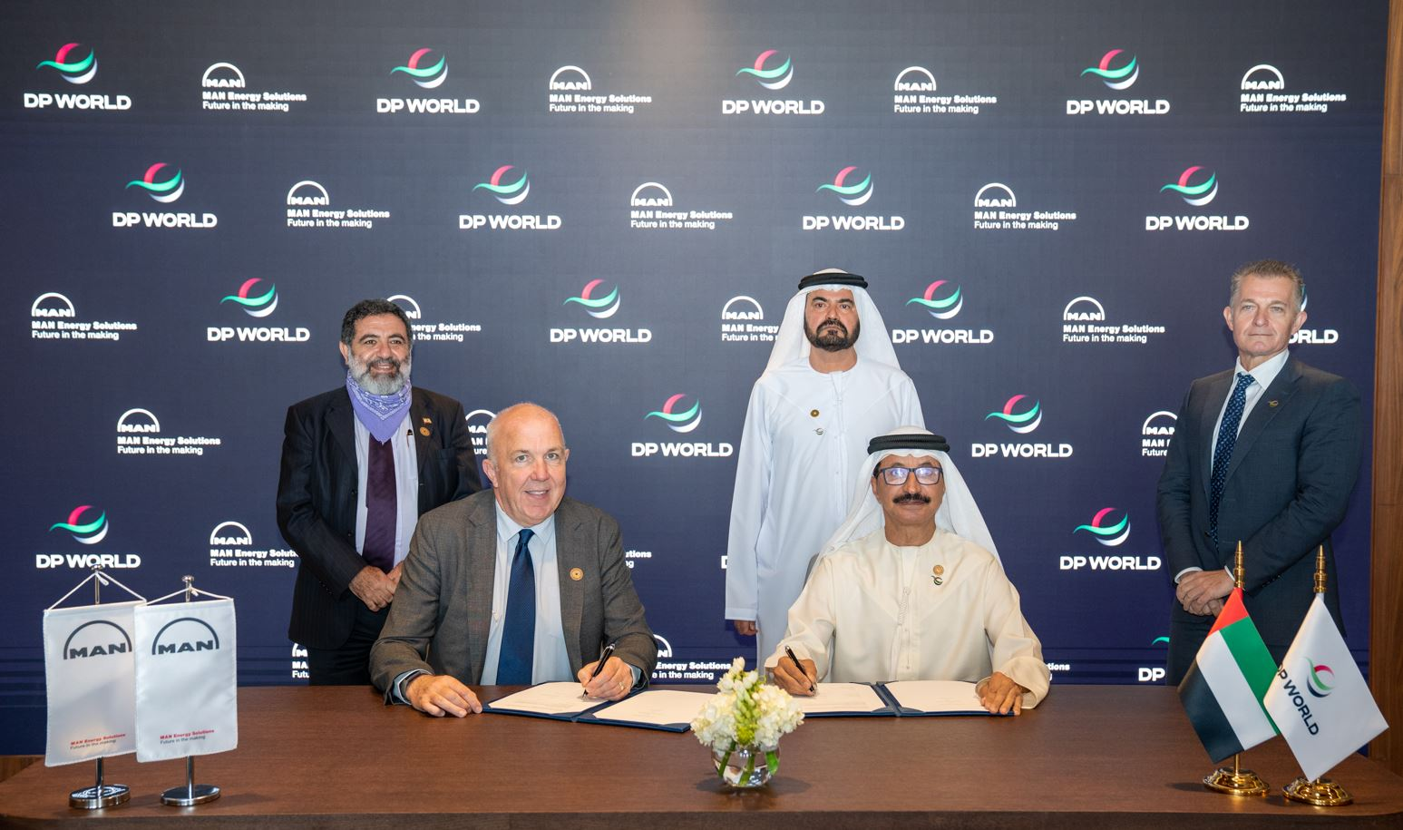 MAN and DP World ink decarbonization pact