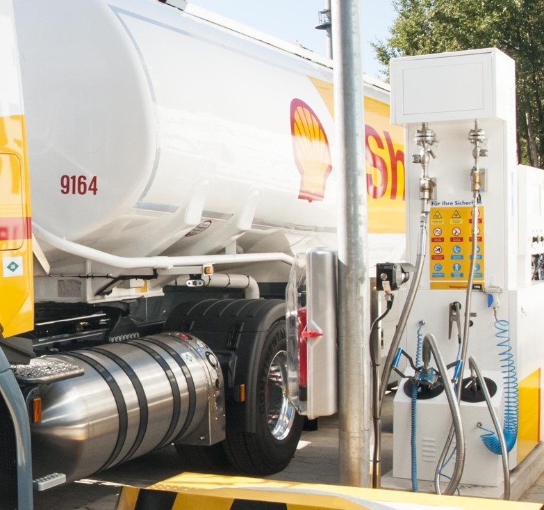 Shell launches new LNG filling station in Germany