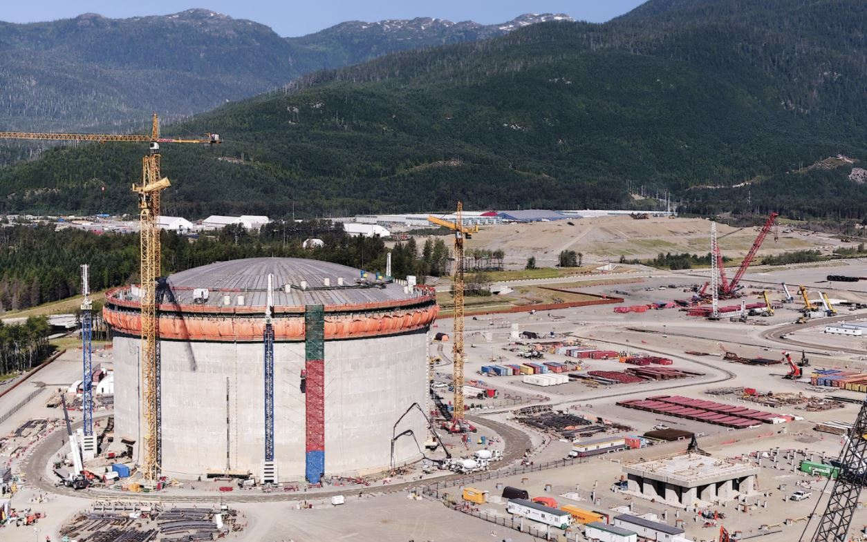 Shell's LNG Canada project more than 50 percent complete