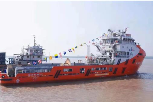 Wuchan Shipbuilding completes Chinese LNG PSV